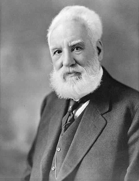1847 - 1922: Alexander Graham Bell (USA)