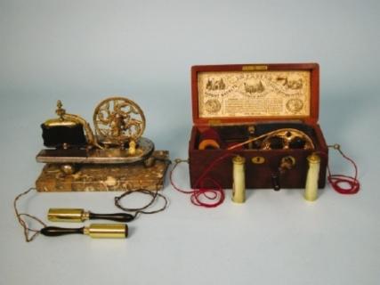 Davis & Kidder's patented Magneto-Electric Machine, c.1880