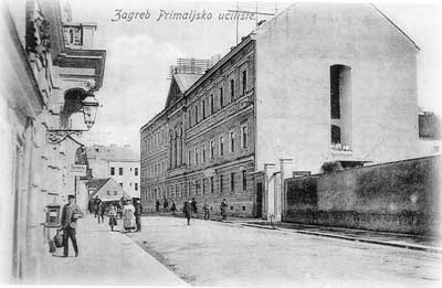 1885:  First School for the Deaf in Croatia, Zagreb