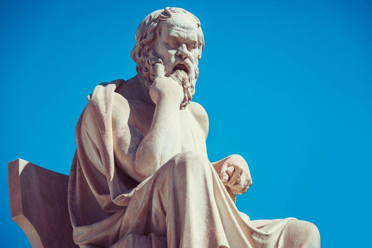 470 - 399 BC: Socrates: