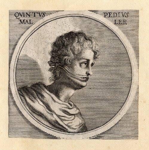 +/- 5 BC: Quintus Pedius, Painter (IT)
